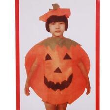 Kids Children Unisex Cute Smiling Pumpkin Halloween Fancy Dress Costume FW