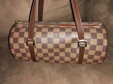 Louis Vuitton Dark Brown Papillon Handbag w/ Dust Bag
