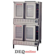 Blodgett DFG-200-ES Double Full-Size Gas Convection Oven
