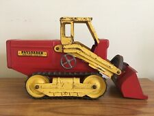 Rare Vintage Early 1950's Nylint HOUGH Pressed Steel Payloader Tractor Shovel