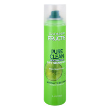 Garnier Fructis Pure Clean Dry Shampoo with Citrus Extract, Normal To Oily Hair