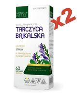 BAIKAL SKULLCAP  Medica Herbs 600mg 120 Cap Scutellaria baicalensis EXTRACT