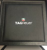 ORIGINAL LARGE TAG HEUER WATCH BOX W/ PILLOW CUSHION