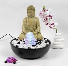 Hochwertiger Zimmerbrunnen im Buddha -Stil und LED Beleuchtung LR2811C