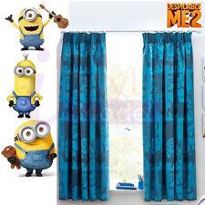Next minions Pencil Pleat Curtains 117(W)x137(L)cm from Next