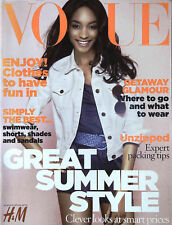 VOGUE UK Great Summer Style 2009 JOURDAN DUNN Tiiu Kuik @EXCELLENT@
