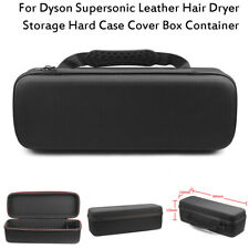 Leather Hair Dryer Storage Hard Case Cover Box Container For Dyson Supersonic