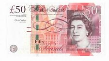 BRITISH 50 POUNDS BANKNOTE REAL CURRENCY YOU WILL RECEIVE THE NOTE IN PICTURE