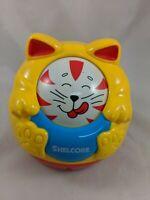 "Shelcore Rolling Faces Cat Kitten Figure Toy 5"" 1996"