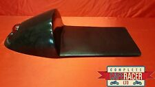SPEEDSTER STYLE FIBREGLASS CAFE RACER SEAT WITH BUILT IN STOP LIGHT IN BLACK
