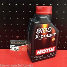 Olio motore Motul 8100 X-Power 10W60 100% sintetico Ferrari Enzo 599 F12 FF V12