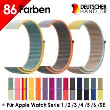 Nylon Sport  Armband für Apple Watch Series 1 2 3 4 5 6 7 SE 38/40/41  42/44/45