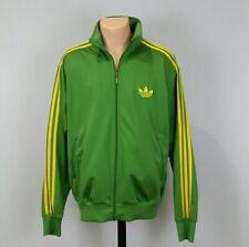 Adidas Originals ADI-Firebird Track Top Jacket Green Yellow Size XL P07542