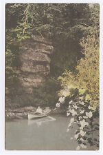 HC Man in Rowboat, Wilson Creek, Menomonie, WI c. 1920 Wisconsin