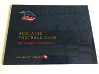 Brand New Mint Condition Adelaide Crows AFL Collector 2017 Souvenir Stamp Folder