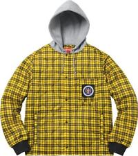 Supreme Yellow Plaid Quilted Liner Jacket - Yellow/Black - M * IN HAND * BNWT
