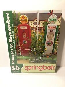 Springbok's 36 Piece Jigsaw Puzzle Coffee Station