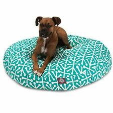 New listing Pacific Aruba Large Round Indoor Outdoor Pet Dog Bed With Removable Washable .