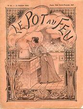 Cuisine-1893 : LE POT-AU-FEU, n°13. Laitances de Harengs en Caisses,Aspic Pommes
