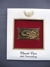 1988 Classic Cars 1935 Duesenberg 22kt Gold GOLDEN FDI FDC replica Cover STAMP