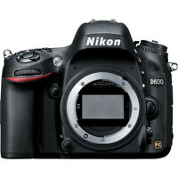 Nikon D600 DSLR Camera (Body Only)