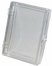 (10 Box Lot) Ultra Pro 25-Card Hinged Plastic Boxes Holders For Trading Cards