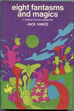 Fiction: 8 FANTASMS & MAGICS by Jack Vance. 1969. Signed 1st edition.