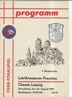 FDGB-Pokal 89/90 Lok/Armaturen Prenzlau - Chemie Leipzig, 26.08.1989
