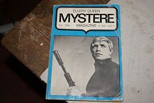 Mystère magazine n°249 - 1968 - Ellery Queen - William Irish - Agatha Christie
