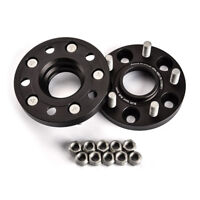 2X 20mm Anodized Black Wheel Spacer fit Ford Mustang,Mustang GT,GT500/Fit:Ford
