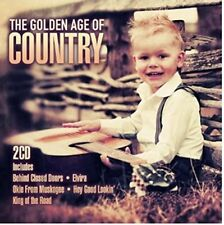 The Golden Age Of Country, CD, 2015, 22 Tracks on 2 CDs by Original Artists, New