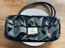 BCBGirls Black Patent Leather Handbag