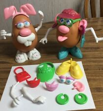 Spud Bunny & Vintage Hasbro ~MR. POTATO~ Head ~Lot Of 2~ EUC With Extra Parts