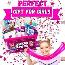 Unicorn Slime Kit for Girls 57pcs - Perfect Unicorn Gifts for Girls!!