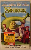 Shrek VHS tape 2001 Special Edition DreamWorks #83670
