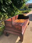 Antique Chinese Bed Opium Wooden Day Bed 1800'S PICK UP ONLY IN DENVER