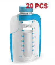 Kiinde 6 Oz Breast Milk Twist Pouches Pack of 20 New