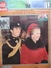 POINT DE VUE N° 1605 ANNE ET MARK D'ANGLETERRE MONACO BAL DE LA ROSE 1979