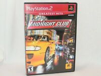 Midnight Club: Street Racing Sony PlayStation 2 / PS2 Game Complete w/ Manual