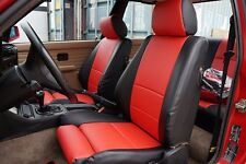 BMW E30 M3 318 1984-1991 IGGEE S.LEATHER CUSTOM SEAT COVER 13 COLORS AVAILABLE