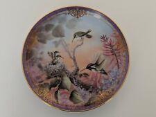 Bradford Exchange Hummingbird Plate / Larry K. Martin / Miniature Glory