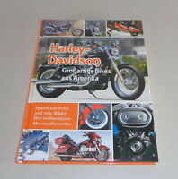 Illustrated Book Harley Davidson - Great Bikes From America - History