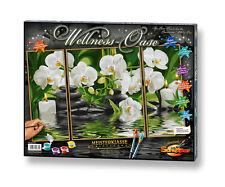 Wellness Oase 50x80 Malen nach Zahlen Schipper 609260681 Orchideen
