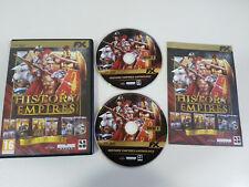HISTORY EMPIRES ANTHOLOGY IMPERIUM III JUEGO PC 2 X DVD-ROM ESPAÑOL 6 JUEGOS