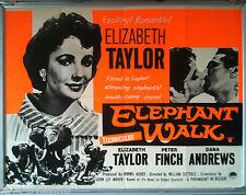 Cinema Poster: ELEPHANT WALK 1954 (QUAD) Elizabeth Taylor Dana Andrews