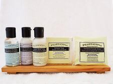 Pharmacopia Mini Hotel Amenity 5 Piece Set Shampoo, Conditioner, Lotion & 2 Soap