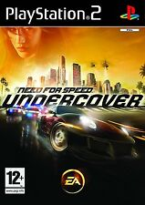 Need for speed: undercover-Playstation 2 (PS2) - UK/PAL
