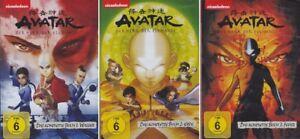 13 DVDs * AVATAR - HERR DER ELEMENTE 1 2 3 - FEUER WASSER ERDE # NEU OVP +