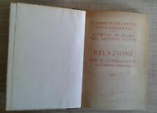 L'AMMINISRAZIONE STRAORDINARIA DEL COMUNE DI ROMA NEL BIENNIO 1923 - 24