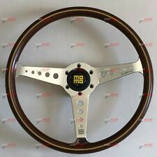 MOMO HERITAGE CALIFORNIA WOOD 360MM STEERING WHEEL VCALIFWOOD36